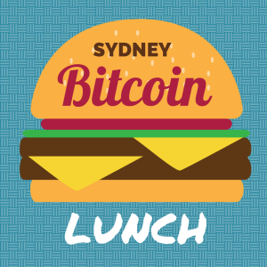 Sydney Bitcoin Lunch Burger